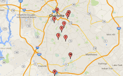 Top 10 Best Neighborhoods of Charlotte